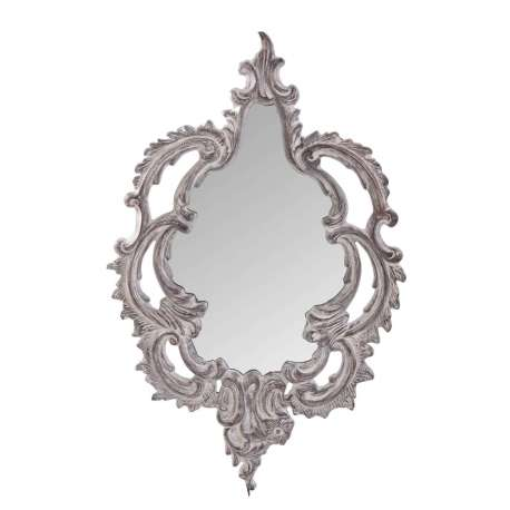 Miroir baroque gris vical home for Miroir baroque gris