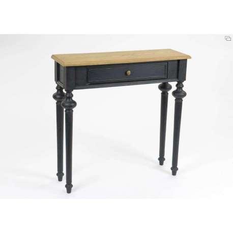 Console bois noir Amadeus