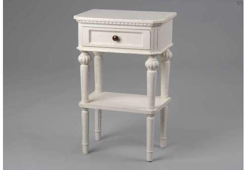 Table de nuit blanche Amadeus Léonie