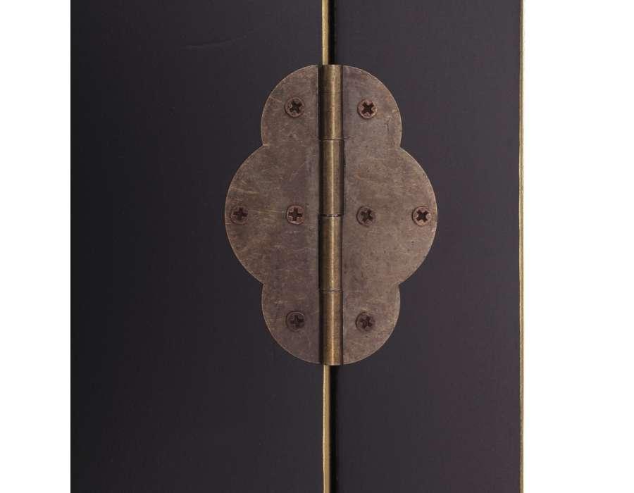Armoire noire 2 portes Chine