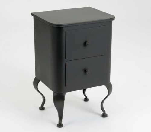 meubles baroques noirs en m tal le grenier de juliette. Black Bedroom Furniture Sets. Home Design Ideas
