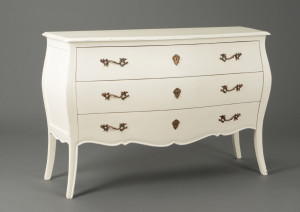 Commode blanche le grenier de juliette - Maison du monde commode baroque ...