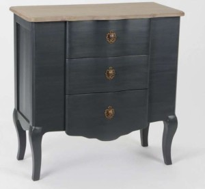 meubles gris baroques le grenier de juliette. Black Bedroom Furniture Sets. Home Design Ideas